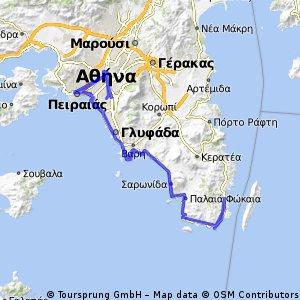 Sounio Lavrio Return ( Via Piraeus) 5/10/2014