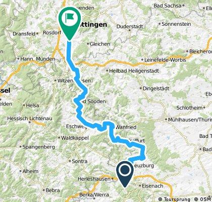 88 — Spichra => Göttingen