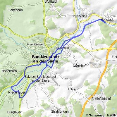 Rundkurs Hollstadt-Niederlauer