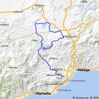 3ª Eta Alhaurín de la Torre , LAs Mesas de Vilaverde 167 km