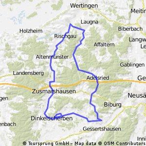 nach Zusamzell / Welden