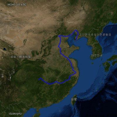 Beijing to Xining (Quinhai)