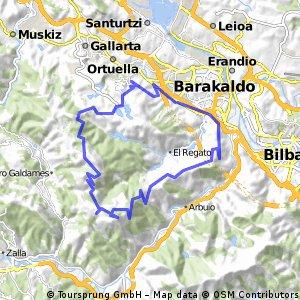 Cycling Routes And Bike Maps In And Around Barakaldo Bikemap - Barakaldo map
