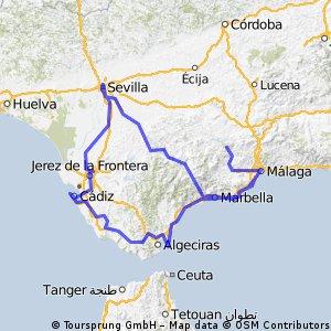 Andaluzja i Gibraltar