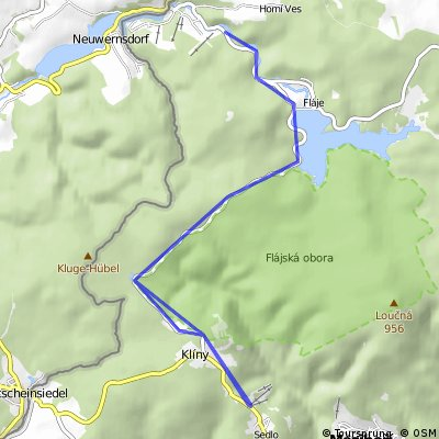 Krušnoman Duathlon - Bike 78 km