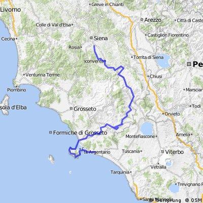 tuscany trail III tappa