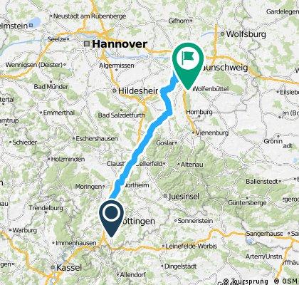 89 — Göttingen - Braunschweig