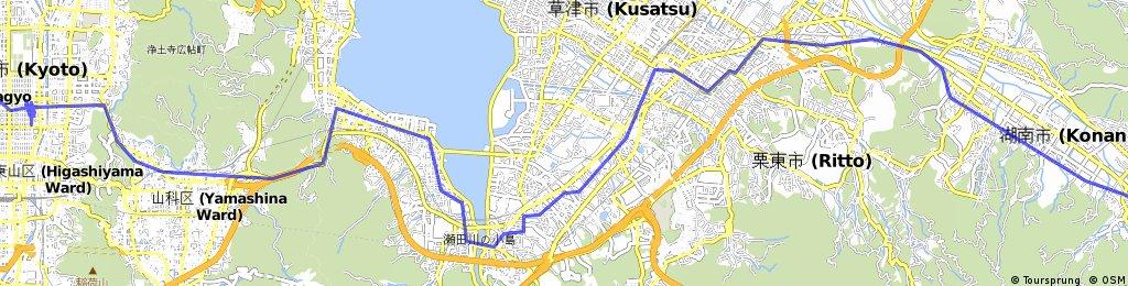旧東海道自転車の旅~Day 7