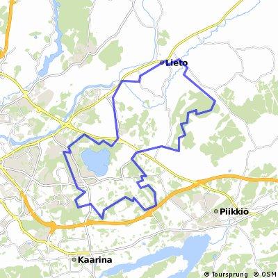 Lieto- Littoinen- Vaala- Turku- Kaarina- Lieto