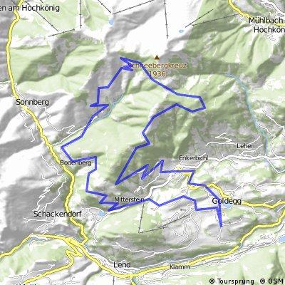 Goldegg MTB Route 3b