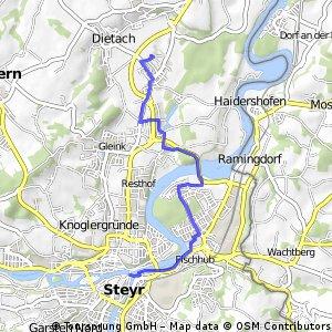 STEYR - zwischenbrücke - weba