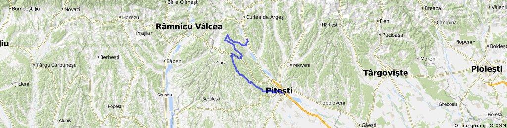 Baiculesti - Tutana - Bascovele - Ursoaia - Cotmeana - Pitesti