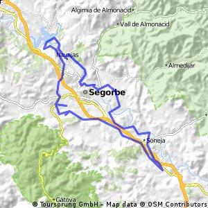 Sot de Ferrer-Regajo-Navajas-Bikemap