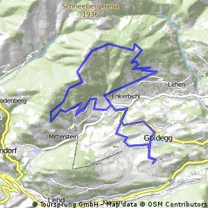 Goldegg MTB Route 3c
