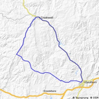 L&L Crookwell vis Gurrandah Goulburn Loop