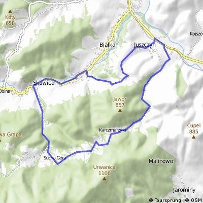 Skawica Sucha góra Limów