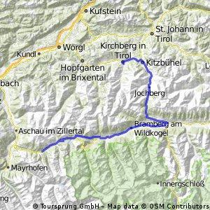 Kirchberg - Gerlospass