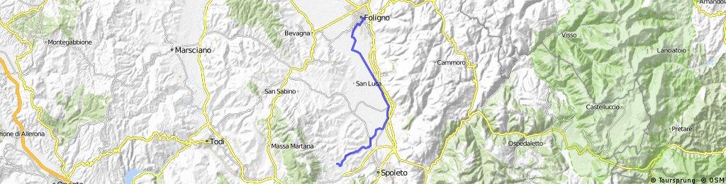 #2RR - Da Foligno a San Martino in Trignano (PG)