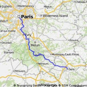 Paris - Sens