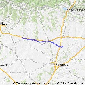 Camino de Santiago frances Etapa 7: Boadilla del Camino - Bercianos del Real Camino