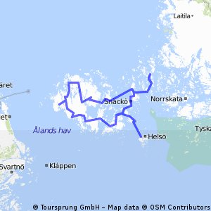 Cycling On The Aland Islands Route Planner Bikemap Your Bike - Aland islands political map