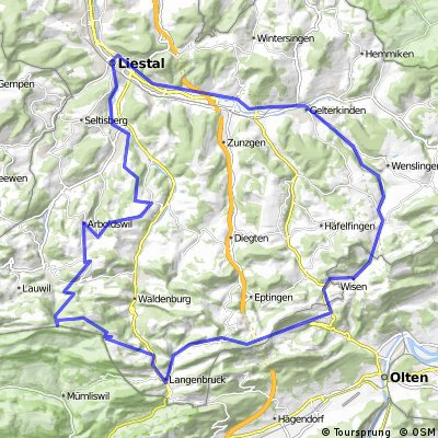Wasserfallen - Chilchzimmersattel - Wisen