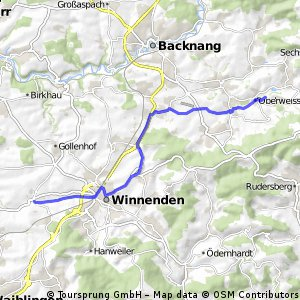 Schwaikheim - Oberweissach
