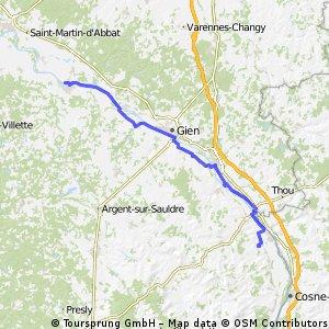 7)  Sully/Loire - Belleville/Loire