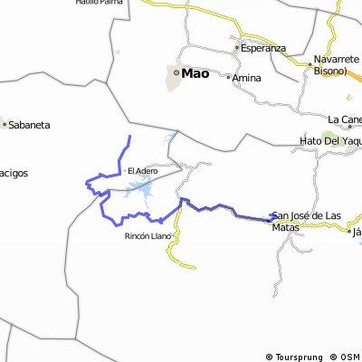 Sajoma- Cacique (Bordeando Presa Moncion)