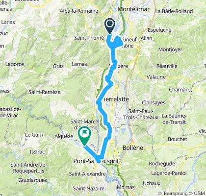 18) Viviers - St Just d'Ardèche