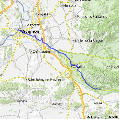 20) Avignon - Mérindol