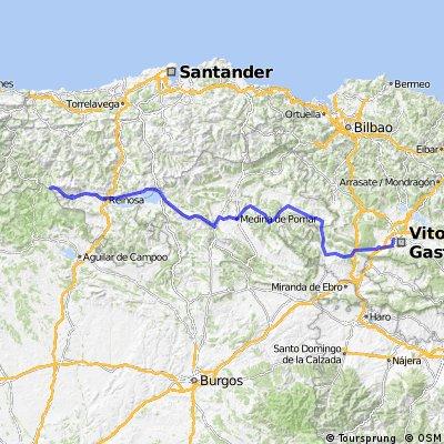 14ª Eta Vitoria. Alto Campo 183 km