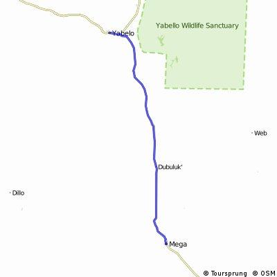 Reise 5 Etappe 11 Mega - Yabelo