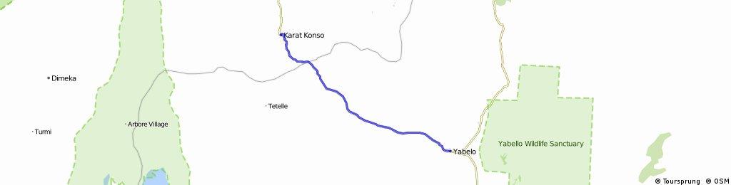 Reise 5 Etappe 12 Yabelo - Konso