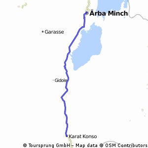 Reise 5 Etappe 13 Konso - Arba Minch