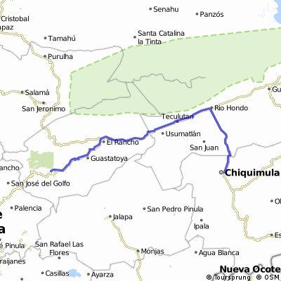 Chiquimula- Sanarate