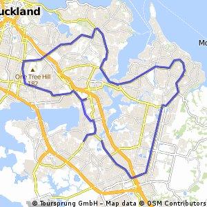 Contrarreloj Auckland