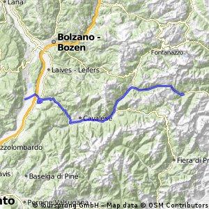 3. Etappe Mittenwald - Venedig