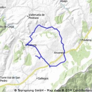 Pedraza, Orejana, Arcones, Matabuena, Pedraza