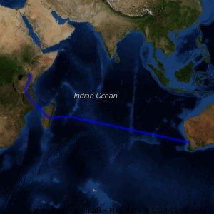 Perth to Kenya
