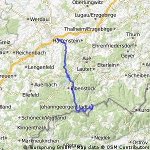 Johanngeorgenstadt-Silberstraße