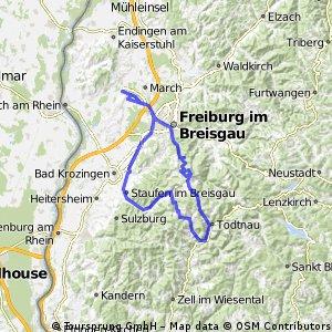 Schwarzwaldrunde Schauinsland-Notschrei-Wiedener Eck