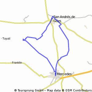 Mercedes, tuneles de Espora, San Andres de Giles. Mercedes