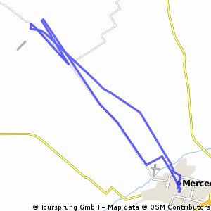 Mercedes, tuneles de Espora,  Mercedes