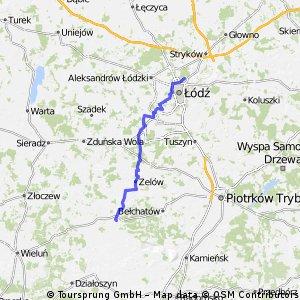 Łódź - Szczerców