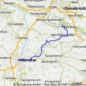 Münsterland - Teutoburger Wald  Tag 1