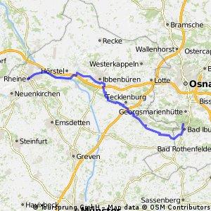 Münsterland - Teutoburger Wald Tag 2