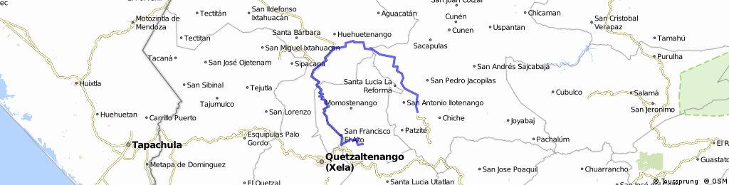 Totonicapan- Huehuetenango- Quiche