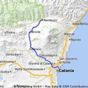 Catania-Randazzo, (via Bronte)