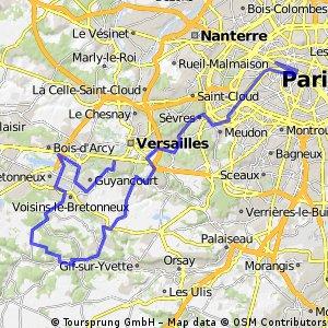 Etappe 21 Tour de France 2013 von Versailles nach Paris